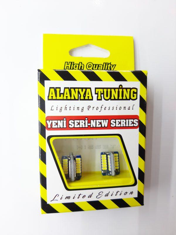 Alanya Tuning AT2040 Led T10 Park Ampülü